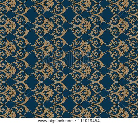 Classic vintage acanthus pattern