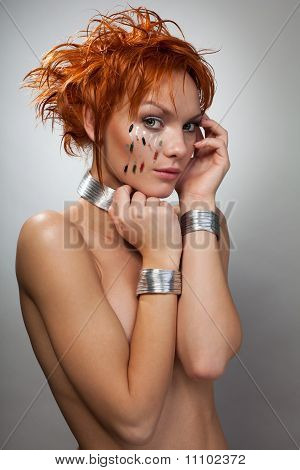 Beautiful Woman From Future