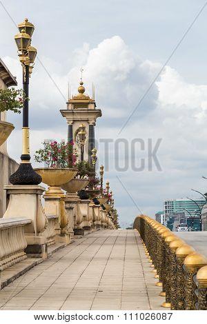 Putrajaya, Malaysia - Circa September 2015: Seri Gemilang Bridge In Putrajaya, Malaysia