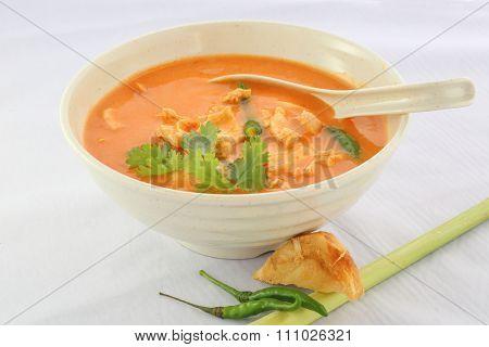 Chicken Tom Yam Soup