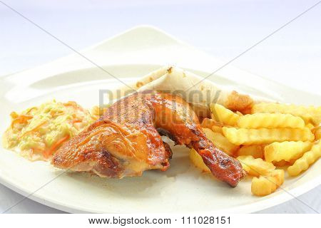Quarter Grill Chicken
