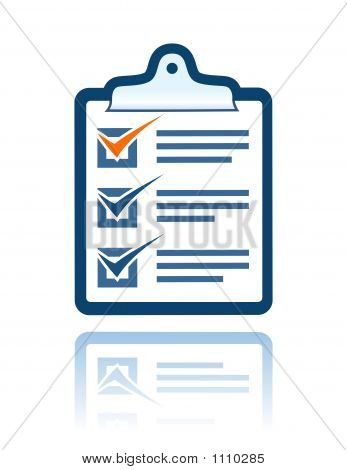 Note Paper Clipboard