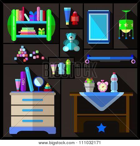 Boys bedroom furniture sets.