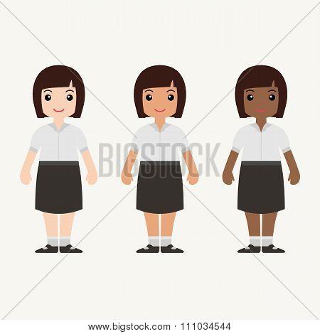 Senior High Uniform