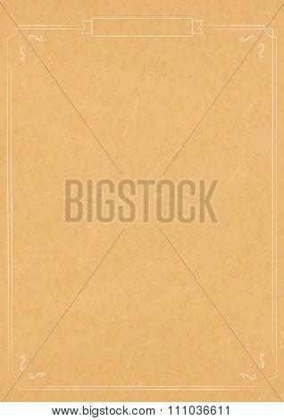 Vertical Vintage Textured Paper Background