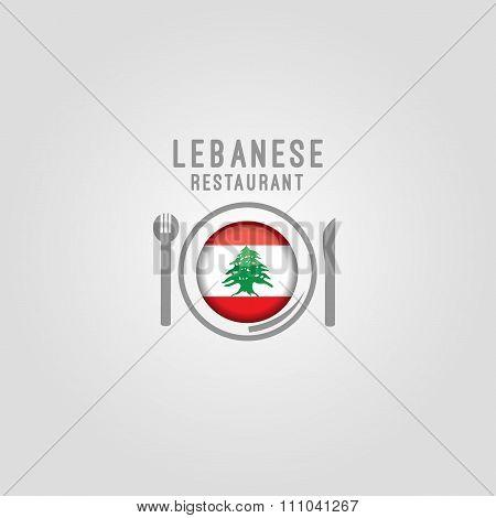 Lebanese restaurant background