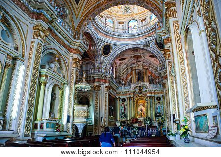 Church of Our Lady of Remedies in Cholula