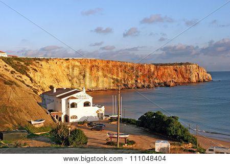 Sagres, Portugal - Restaurants In Rocky Bay