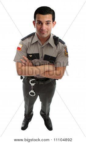 Diretor da guarda de prisão ou policial