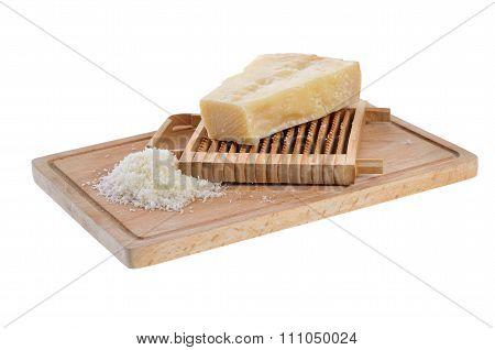 Italian parmesan cheese