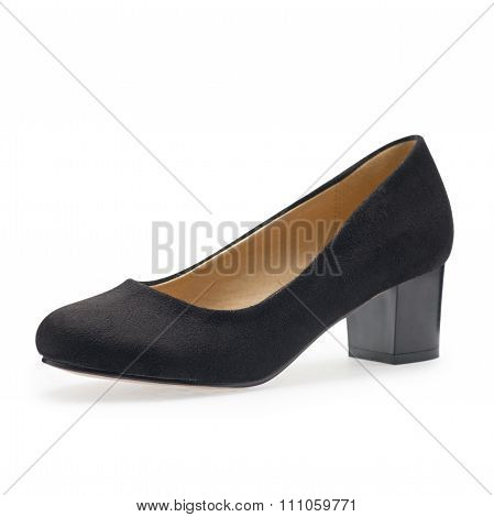 Black Small Heels, Symbolic Photo For Fashion And Elegance