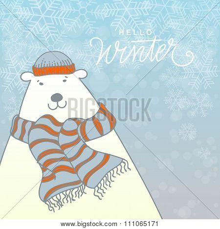 Winter Vector Illustration