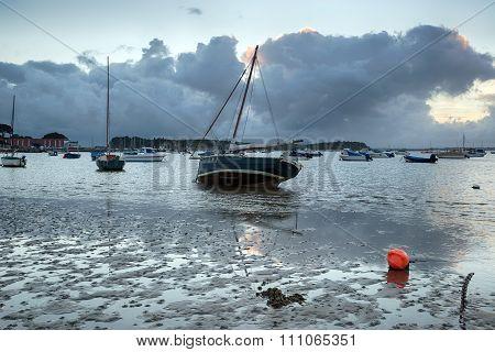 Sailing Boats At Sandbanks