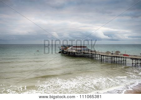 Cromer Pier On A Stormy Day