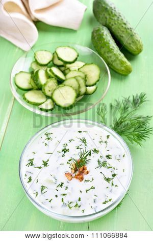 Summer Soup Tarator