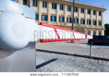 Vehicle Access Barrier.