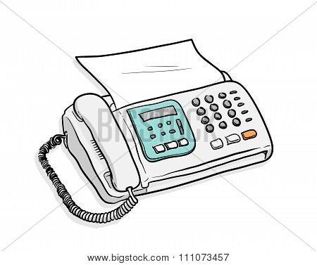 Fax Telephone