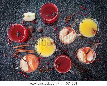 Mulled Wine With Winter Spices