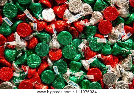 Holiday Hershey Kisses