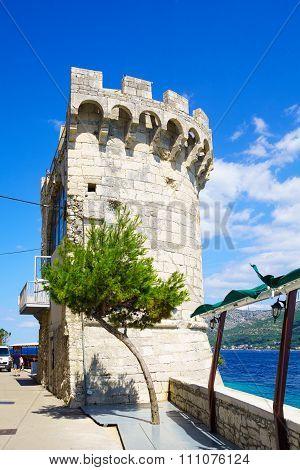 The Zakerjan Tower, Korcula, Croatia