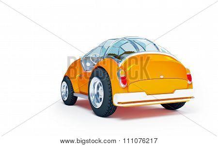toy futuristic car back