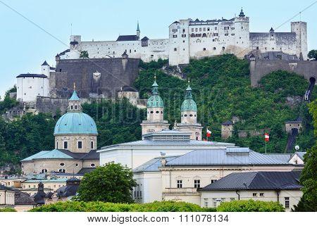 Salzburg Summer View, Austria