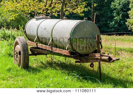 Cistern In A Meadow