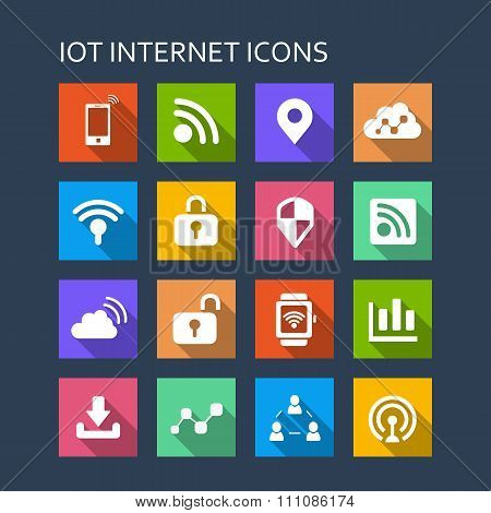 Internet Of Things Icon