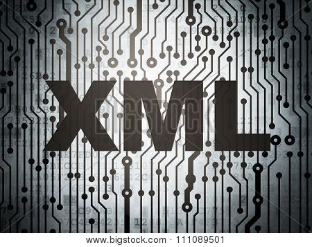 Programming concept: circuit board with Xml