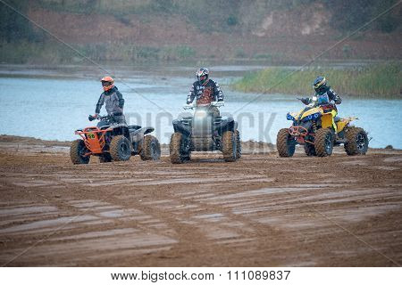 Unidentified Riders At The Track, Class