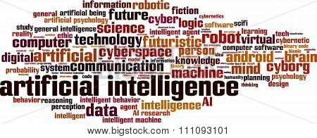 Artificial Inteligence Word Cloud