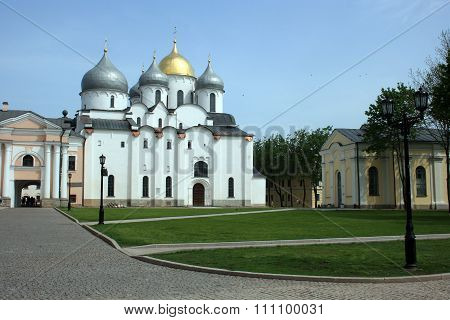Saint Sophie Cathedral. Novgorod, Russia.