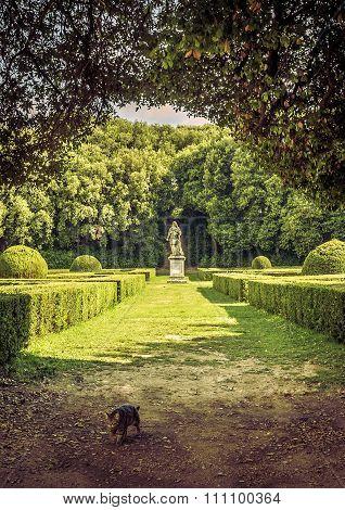 The Leonini Gardens, Tuscany