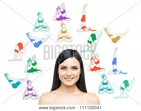 Woman Thinking About Taking Up Yoga