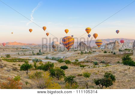 Hot Air Balloons Capadocia, Turkey.