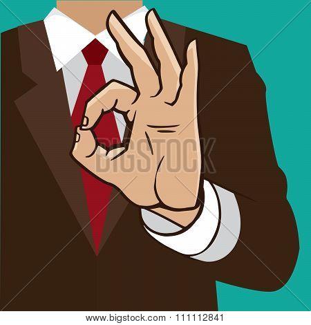 Hand Sign Okay