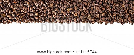 Black coffee frame border
