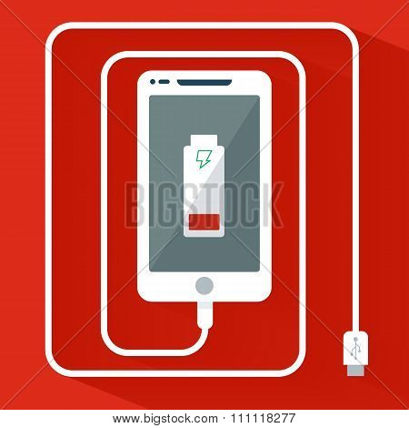 Phone Charging Icon