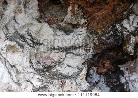 Natural Background,colorful Chalkstone Rock Texture