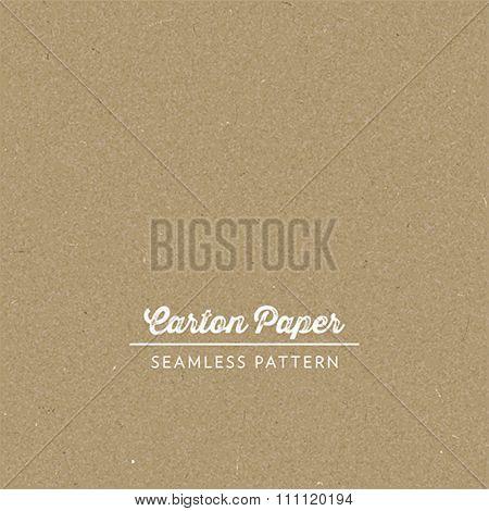 Vector seamless carton paper texture