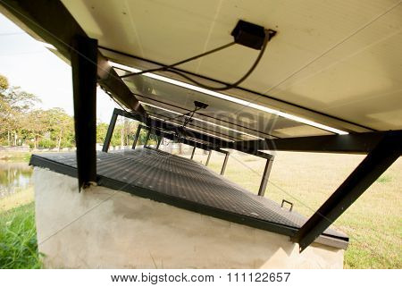 The Under Side Of Solar Panels And Their Circuit