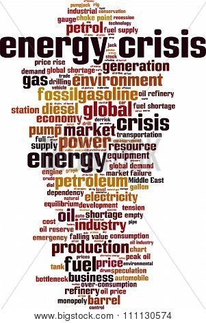 Energy Crisis Word Cloud