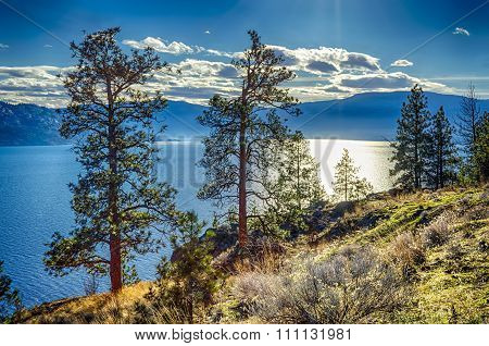 Okanagan Lake Peachland British Columbia Canada