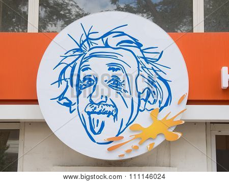The Emblem Of The Museum Of Entertaining Science Einstein, Volgograd