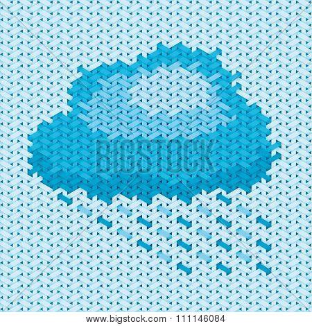 Handicraft Cloud Illustration