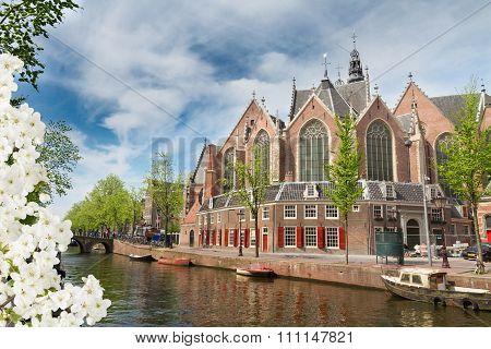 Oude Kerk, Amsterdam, Holland