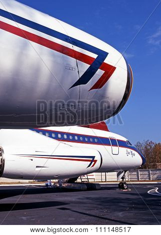 Convair CV880, Memphis.