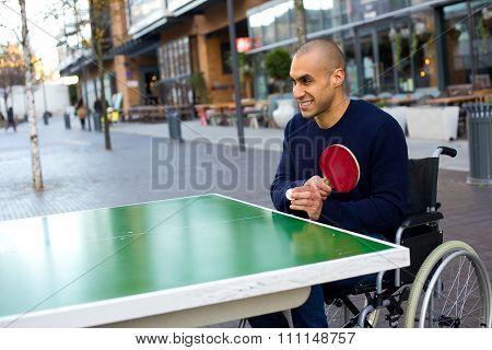 wheelchair playing