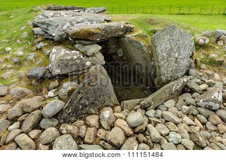 Burial Mounds Kilmartin Glen, Scotland.