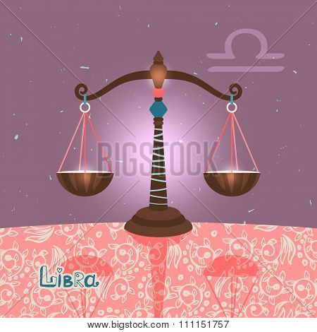 Libra zodiac sign of Horoscope